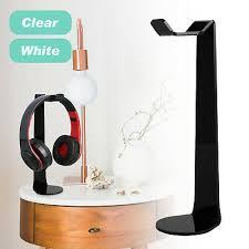 <b>Universal Acrylic Earphone Headset</b> Hanger <b>Headphone</b> Stand ...