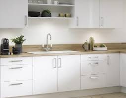 reno gloss white kitchen