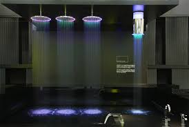 lighting shower. cristina rubinetterie sandwich color chromatherpy light shower u201cu2026 lighting r