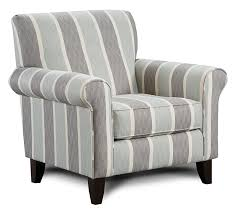 simple black and white striped accent chair decorating ideas