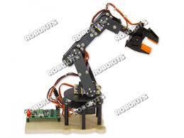 robotic arm 6 dof diy kit with usb servo controller and