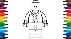 Small Picture How to draw a simple lego minifigure easy drawing video for kids