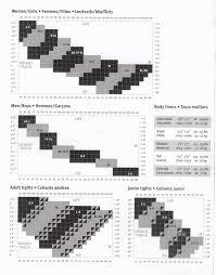 Sk8express Mondor Size Chart