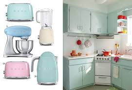 Retro Kitchen Appliance Retro Kitchen Appliances Retro Kitchen Design With Vintage Stove