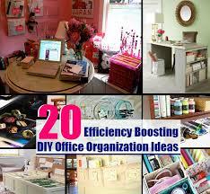 20 easy efficiency boosting diy office organization ideas diycozyworld home improvement and garden tips