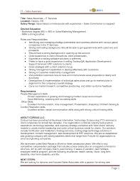 sales associate job description objective