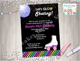 Free 13th Birthday Invitations Others Charming Roller Skating Party Invitations Ideas