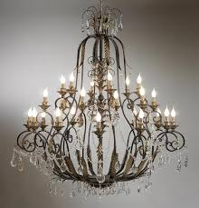 brilliant iron and crystal chandelier design12141500 wrought intended for new house wrought iron and crystal chandelier ideas