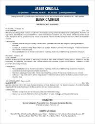 Duties Of Cashier For Resumes Hospinoiseworksco Resume Cashier