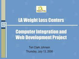 LA Weight Loss Centers Computer Integration and Web Development ...