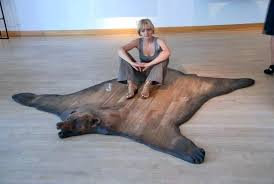 fake animal skin rugs with head faux hide cape town cool anim