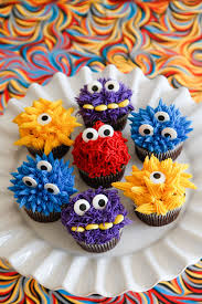 Monster Iffic Cupcakes Cute Little Monster Cupcakes For A Little