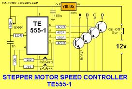 stepper motor controller te555 1 circuit electronics stepper motor controller te555 1 circuit