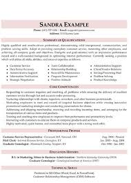 Customer Service Skills In Resume Customer Service Resume Customer Service Resume Resume