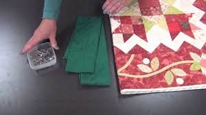 How to Make a Quilt Sleeve - YouTube &  Adamdwight.com