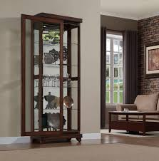 Mirrored Kitchen Cabinet Doors Amazing Classic Display Cabinet Decoration Ideas Presenting