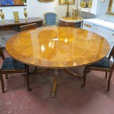 old dining table for sold 1400 vintage antique exotic wood round dining table c 1930
