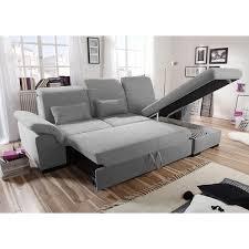 Sofa Schlaffunktion Grau Ecksofa Brandons Sofa