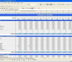 Free Income And Expenses Spreadsheet Small Business Expense Pywrapper