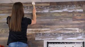 how to install laminate on your walls