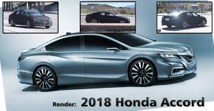 2018 honda lineup. contemporary honda the honda accord 2018 model has been spied and it should be the first  vehicle from this lineup to sit on a new modular platform which is going share in honda