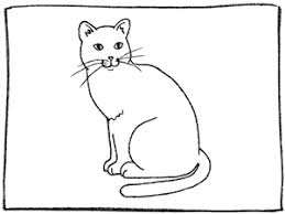 cat drawing outline. Brilliant Outline Step 6 Draw Long Smooth Lines Coming From The Nose For Catu0027s Whiskers  Add A Curving Tail And Erase Small Section Of Outline Where It Joins  On Cat Drawing Outline L