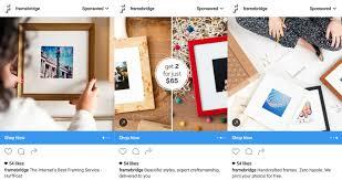 framebridge instagram carousel ads retail