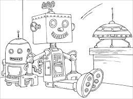 Kleurplaat Speelgoed Robot Afb 22820 Images