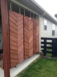 outdoor privacy wall ideas how to build a herringbone privacy screen fence home interiors catalogo outdoor privacy wall