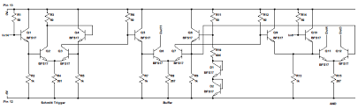 rebuilding a custom ic saves hp pulse generator hackaday block diagram of the hp 1820 0285
