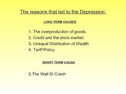 what caused the wall st crash the