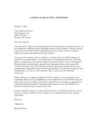 Cover Letter For Mechanical Engineer Internship Resume Simple