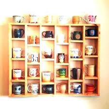 wall mug rack coffee mug holder wall mug holder wall coffee cup rack wall mount coffee