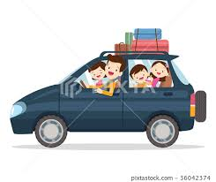 family traveling together on vacations