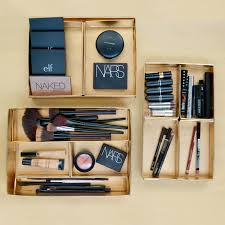 luxe makeup storage trays