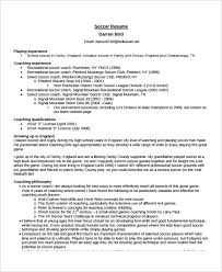 Soccer Coach Resume Examples Magdalene Project Org