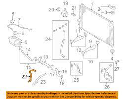 Chevrolet GM OEM 04-08 Aveo 1.6L-L4 Radiator-Heater Hose 95211458 ...