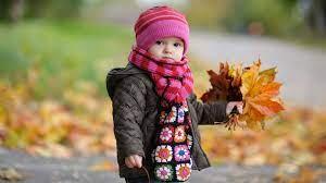 386200 Cute Baby in Autumn 4k wallpaper ...