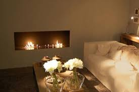 modern design compact ethanol fireplaces installation