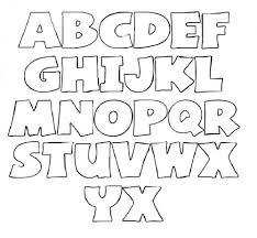 Letter Stencils To Print And Cut Out Alphabet Font Templates My Traceables Letter Stencils Alphabet