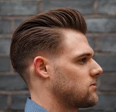 Slicked Back Hair Style low fade haircut 15 trendy low taper skin b over fade haircuts 1614 by wearticles.com