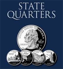 State Quarter Value Chart Us State Quarters Values 1999 To 2009 Cointrackers Com