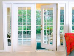 good double french door exterior patio grande room beautiful with interior sidelight doggie lowe home depot