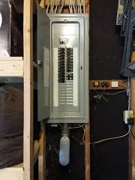 replace fuse box replace fpe breakers total electric 200 amp garage panel replacement