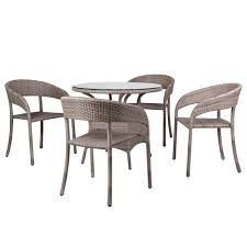 chic restaurant outdoor chairs furniture set