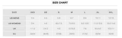 Tyr Swim Fins Size Chart Tyr Stryker Silicone Fin