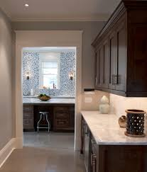 Kitchen Butlers Pantry Lagos Blue Limestone Kitchen Eclectic With Baseboard Butlers