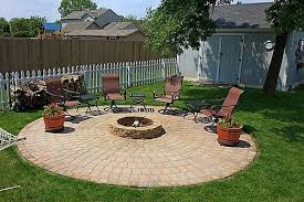 patio with fire pit. Outdoor Patio Furniture Around The Fire Pit And Patio. With I