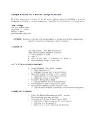 Sample Resume High School Graduate New Resume Without High School Diploma Builder Unique Graduate Template