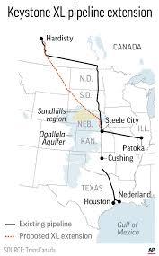 Keystone XL pipeline work about to ...